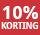 10% korting - periode 1 - 2021