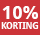 10% korting - periode 10