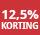 12,5% korting - periode 3
