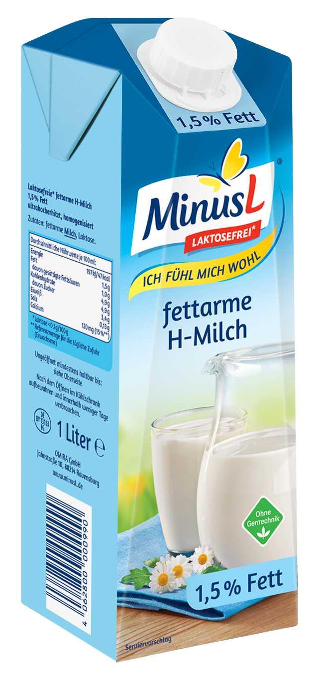 Minus L lactosevrije melk 10x1