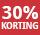 30% korting - periode 8 & 9