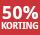 50% korting - periode 6