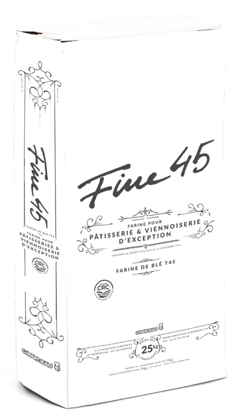 Farine de ble fine type T45