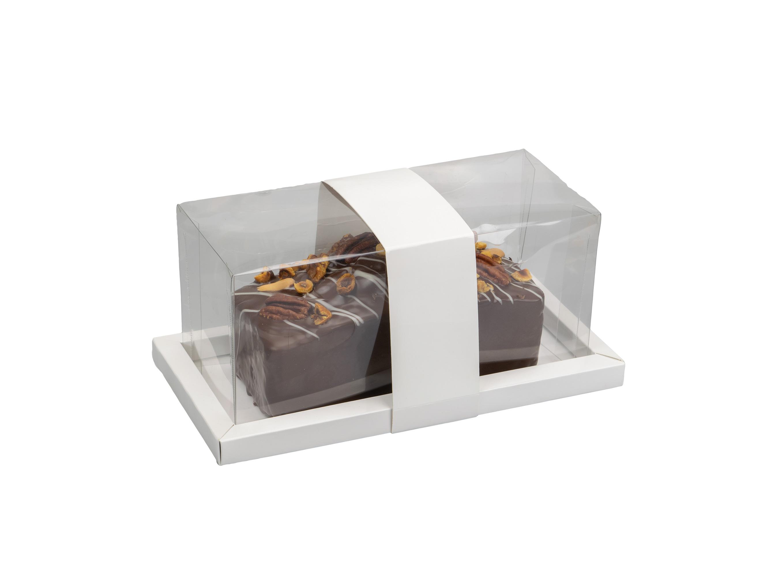 Cakebox 23x11,5x10 glans wit