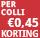 0,45 p colli korting - periode 10