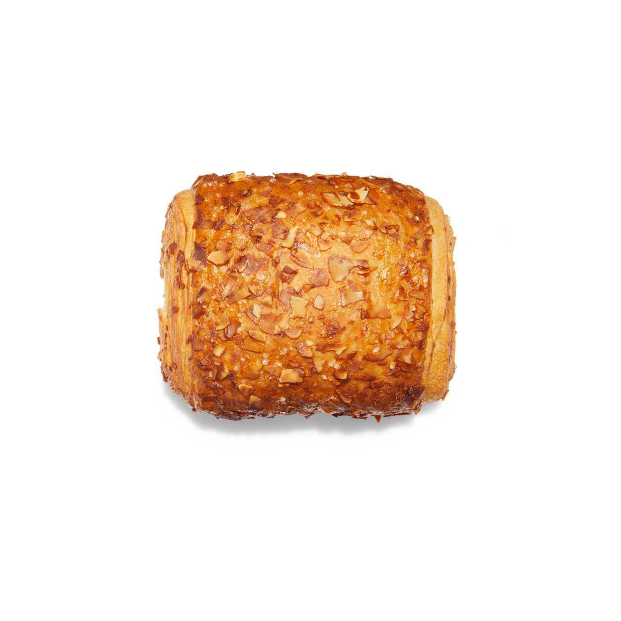 Broodje met creme+amandeldecor