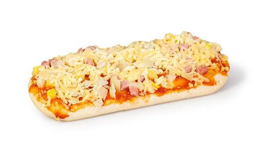 Pizza hawaii ovaal