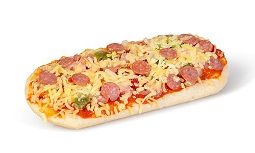 Pizza ham/salami ovaal