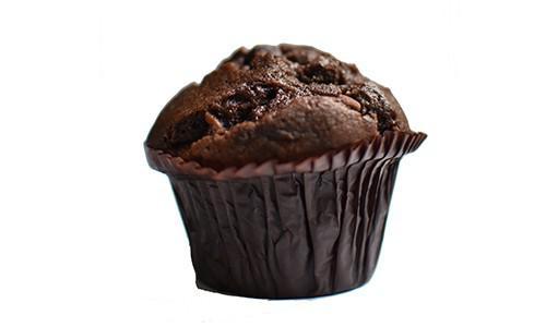 Muffin dubbel choco