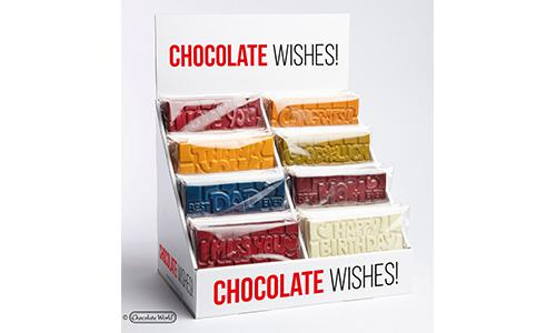 Display Chocolate Wishes