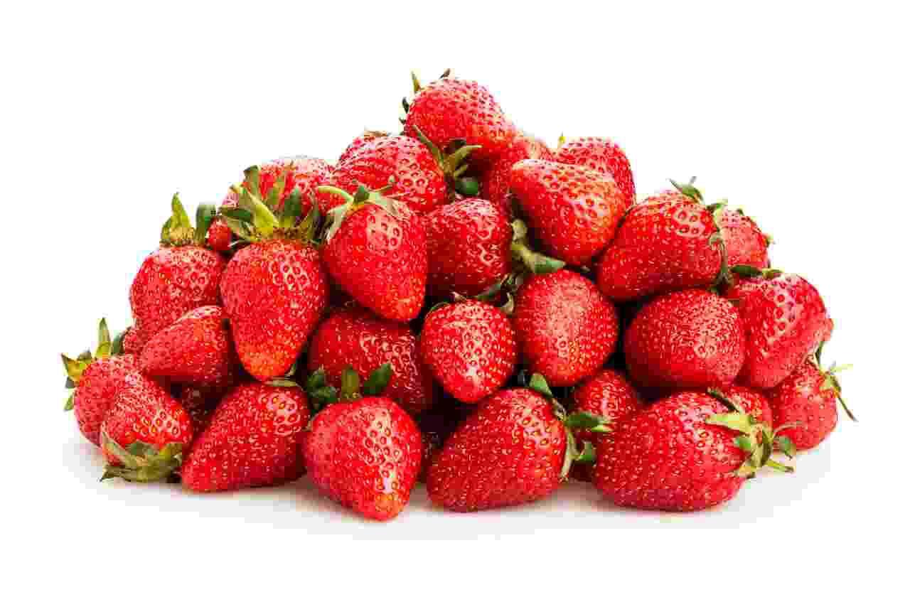 Verse aardbeien middel 10x500g