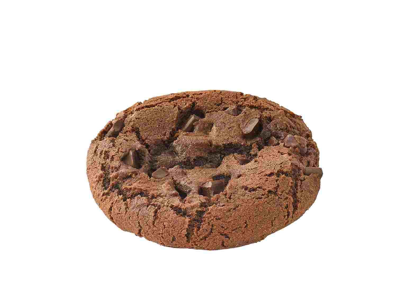 Double chocolate vegan cookie
