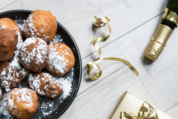Oliebollen in de mix
