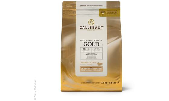 Gold chocolade callets 2,5kg