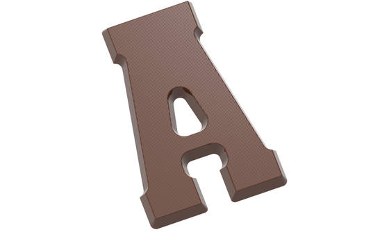 Chocoladeletter A 200 gr